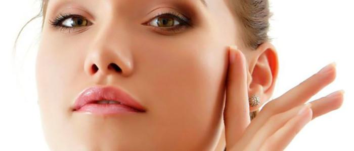 Preenchimento das maças do rosto com ácido hialurônico